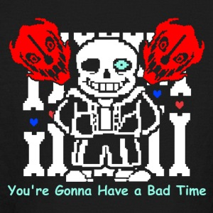 Undertale Sans Bad Time Game Funny - Kids' Long Sleeve T-Shirt