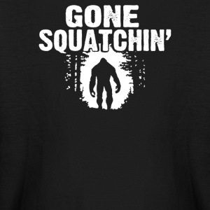 GONE SQUATCHIN FINDING SASQUATCH BIG FOOT - Kids' Long Sleeve T-Shirt