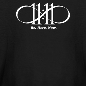 BE HERE NOW - Kids' Long Sleeve T-Shirt