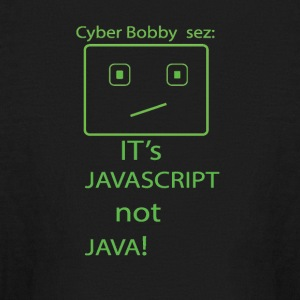 cyberbobbysezjavascript - Kids' Long Sleeve T-Shirt