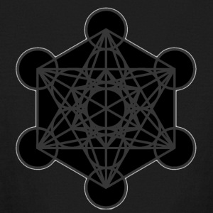 Metatron's Cube - Kids' Long Sleeve T-Shirt