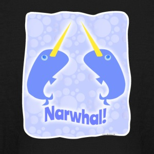 Double Narwhal Duel - Kids' Long Sleeve T-Shirt