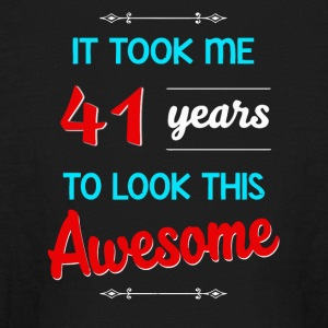 It took me 41 years to look this awesome - Kids' Long Sleeve T-Shirt
