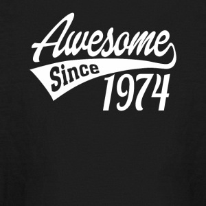 Awesome Since 1974 - Kids' Long Sleeve T-Shirt
