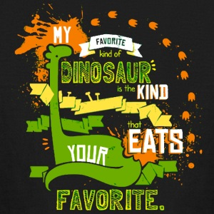 My Favorite Dinosaur - Kids' Long Sleeve T-Shirt