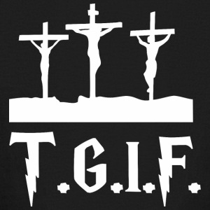 TGIF Jesus Good Friday Jesus - Kids' Long Sleeve T-Shirt