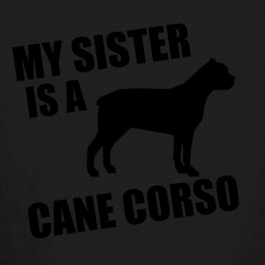 My Sister Is A Cane Corso - Kids' Long Sleeve T-Shirt