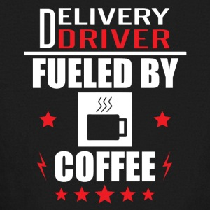 Delivery Driver Fueled By Coffee - Kids' Long Sleeve T-Shirt