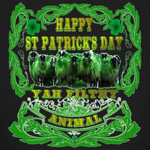 Happy St Patrick's Day Yah-Filthy-Animal - Kids' Long Sleeve T-Shirt