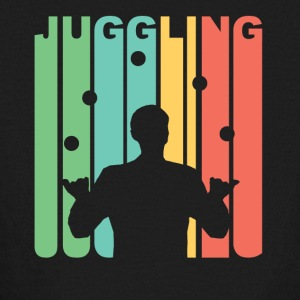 Vintage Juggling Graphic - Kids' Long Sleeve T-Shirt