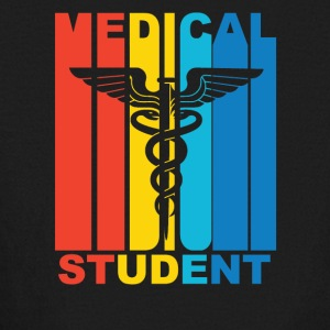 Vintage Medical School Student Graphic - Kids' Long Sleeve T-Shirt