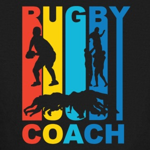 Vintage Rugby Coach Graphic - Kids' Long Sleeve T-Shirt