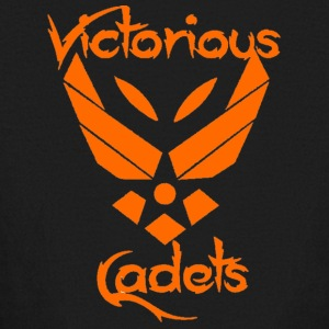 Victorious Cadets Logo - Orange - Kids' Long Sleeve T-Shirt