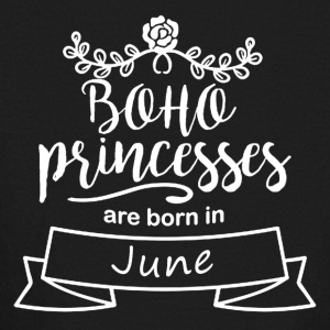 Boho_Princesses_are_born_in_June - Kids' Long Sleeve T-Shirt