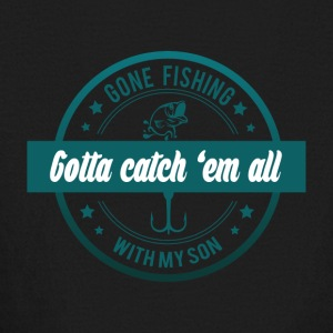 Gone fishing with my son - Kids' Long Sleeve T-Shirt