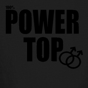 100% Power Top - Kids' Long Sleeve T-Shirt