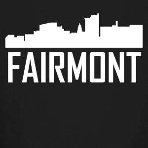 Fairmont West Virginia City Skyline - Kids' Long Sleeve T-Shirt