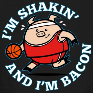 Shakin and Bacon - Kids' Long Sleeve T-Shirt