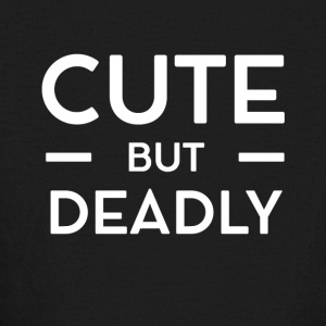 Cute but deadly - Kids' Long Sleeve T-Shirt