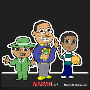 Marvin The Simp Combination - Kids' Long Sleeve T-Shirt