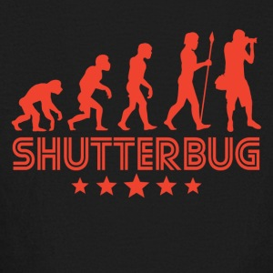Retro Shutterbug Evolution - Kids' Long Sleeve T-Shirt
