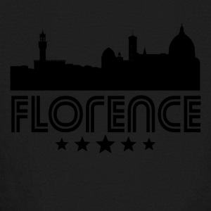 Retro Florence Skyline - Kids' Long Sleeve T-Shirt