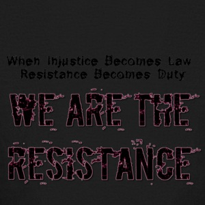 WE ARE THE RESISTANCE law and duty - Kids' Long Sleeve T-Shirt