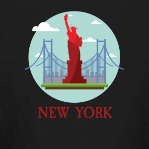 New York City NYC Manhattan Tourist Souvenir - Kids' Long Sleeve T-Shirt