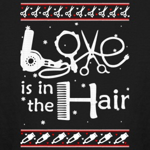 Love Is In The Hair T Shirt - Kids' Long Sleeve T-Shirt