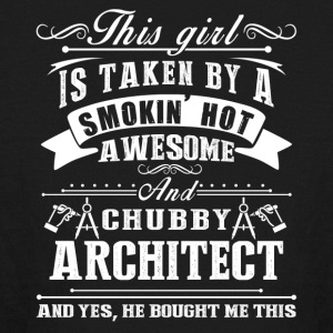 Smokin Hot Awesome Architect Shirt - Kids' Long Sleeve T-Shirt