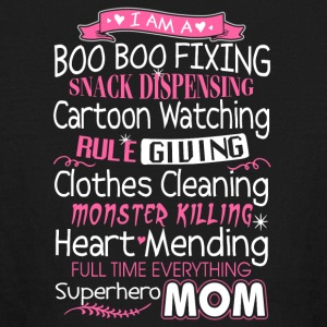 Superhero Mom T Shirt - Kids' Long Sleeve T-Shirt