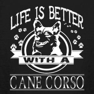 Life Is Better With A Cane Corso Shirt - Kids' Long Sleeve T-Shirt