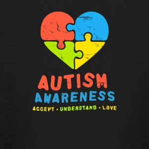 Autism Awareness Accept Understand & Love - Kids' Long Sleeve T-Shirt