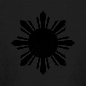 Black Flag Philippines Sun - Kids' Long Sleeve T-Shirt