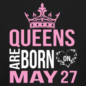 Queens are born on May 27 - Kids' Long Sleeve T-Shirt