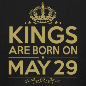 Kings are born on May 29 - Kids' Long Sleeve T-Shirt