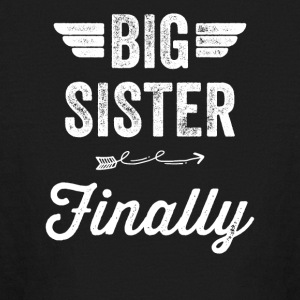 Big sister Finally - Kids' Long Sleeve T-Shirt