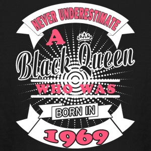 Black Queens Born In 1969 - Kids' Long Sleeve T-Shirt