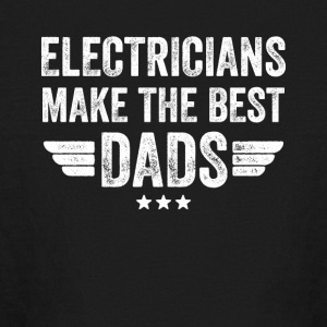 electricians make the best dads - Kids' Long Sleeve T-Shirt