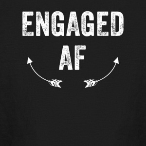 Engaged Af - Kids' Long Sleeve T-Shirt