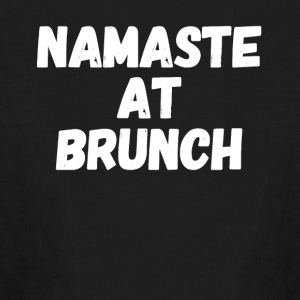 Namaste at brunch - Kids' Long Sleeve T-Shirt
