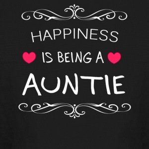 Happiness Is Being a AUNTIE - Kids' Long Sleeve T-Shirt