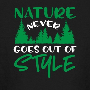 Nature Never Goes Out Of Style - Kids' Long Sleeve T-Shirt