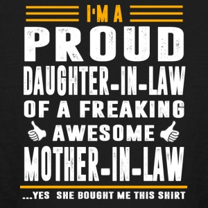 I m a Proud Daughter In Law Freaking Awesome Mothe - Kids' Long Sleeve T-Shirt