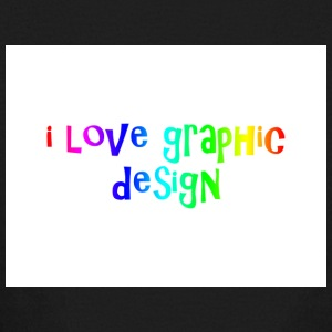 i love graphic design - Kids' Long Sleeve T-Shirt