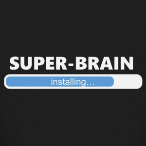 Installing Super Brain (1202) - Kids' Long Sleeve T-Shirt