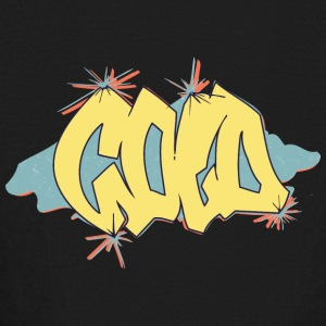 cold_graffiti_yellow - Kids' Long Sleeve T-Shirt