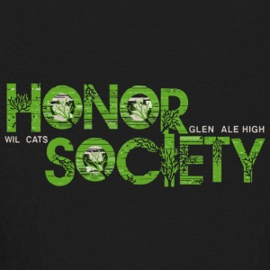 Honor Society Glendale High Wildcats - Kids' Long Sleeve T-Shirt