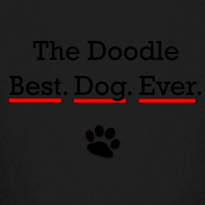 The Doodle - Best Dog Ever - Kids' Long Sleeve T-Shirt