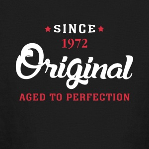 Since 1972 Original Aged To Perfection - Kids' Long Sleeve T-Shirt